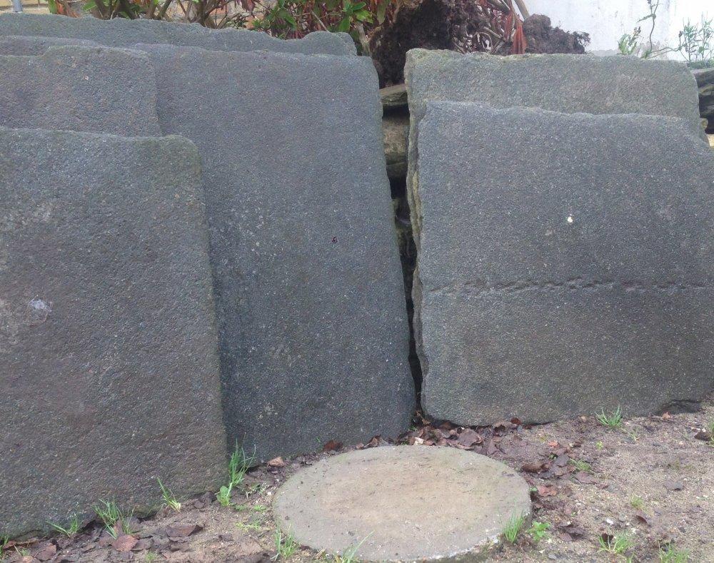 Sort granit sprængsten – Jem og fix gas ombytning