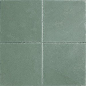 Jade green børstet 40x40